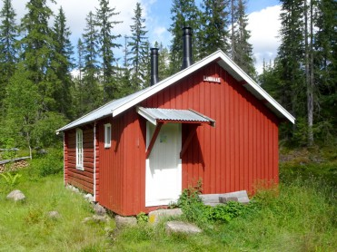 Lunnaas-hytta i Finnemarka - Payback time!