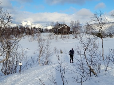 Lite snø i fjellet, men nok til godt skiføre