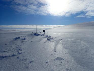 Is- og snøforhold i fjellet i Nordland og Troms per 30. april 2020