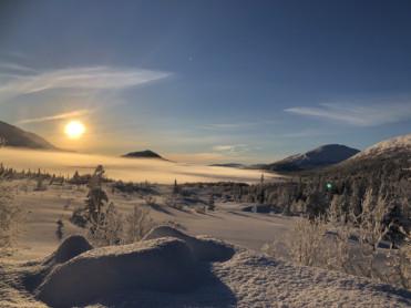 Is- og snøforholdene i fjellet i Nordland og Troms per 24. januar 2019