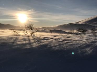 Is og snøforhold i fjellet i Nordland og Troms per 6. februar 2020