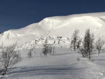 Is og snøforhold i fjellet i Nordland og Troms per 27. februar 2020