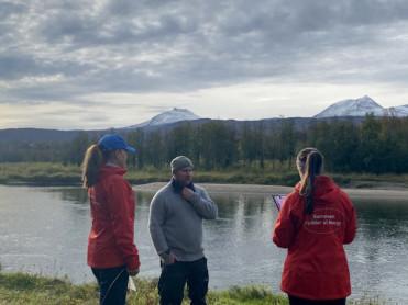 Telling av søppel i Troms