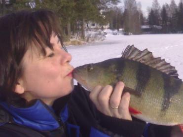 Anbefaler abborfiske