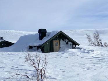 Klart til innrykk på hytter og buer